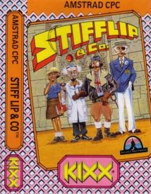 Caratula de Stifflip And Co. para Amstrad CPC