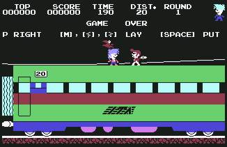 Pantallazo de Stop the Express para Commodore 64
