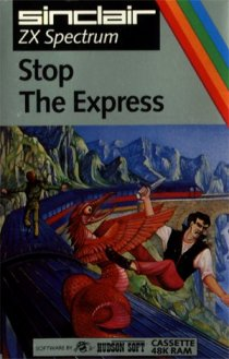 Caratula de Stop the Express para Spectrum
