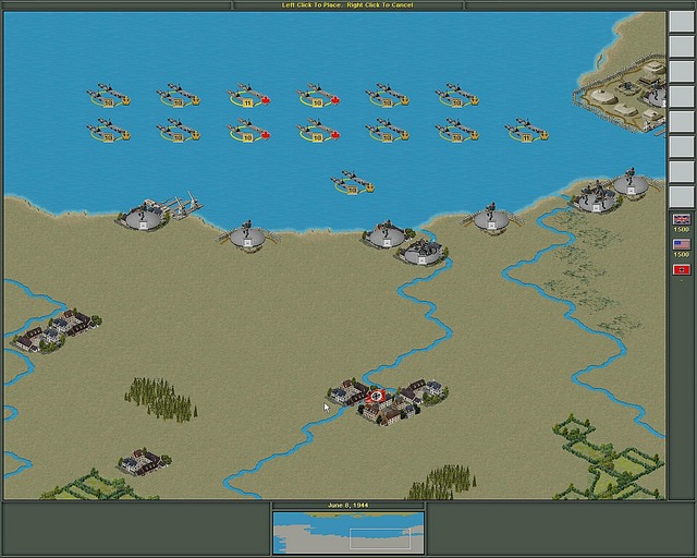 Pantallazo de Strategic Command 2: Blitzkrieg para PC