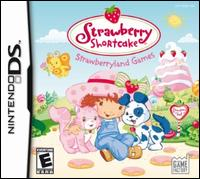 Caratula de Strawberry Shortcake Strawberryland Games para Nintendo DS