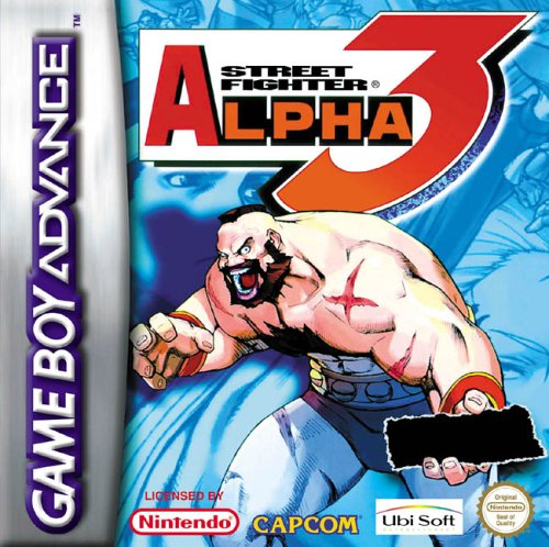 Caratula de Street Fighter Alpha 3 para Game Boy Advance