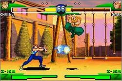 Pantallazo de Street Fighter Alpha 3 para Game Boy Advance