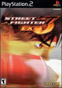 Caratula de Street Fighter EX3 para PlayStation 2