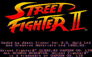 Pantallazo de Street Fighter II: The World Warrior para PC