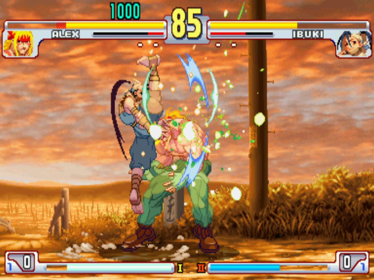 Pantallazo de Street Fighter III 3rd Strike: Fight for the Future para M.A.M.E.