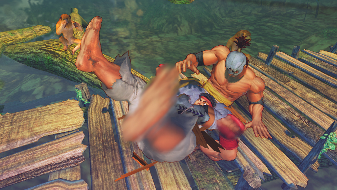 Pantallazo de Street Fighter IV para PC
