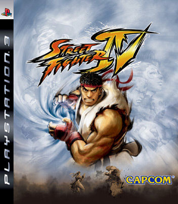 Caratula de Street Fighter IV para PlayStation 3