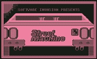 Pantallazo de Street Machine para Commodore 64
