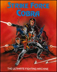 Caratula de Strike Force Cobra para Commodore 64