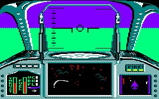 Pantallazo de Strike Force Harrier para Amstrad CPC