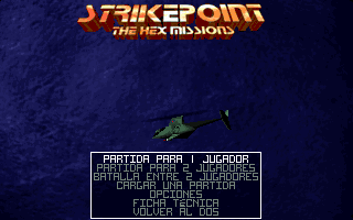 Pantallazo de Strike Point: The Hex Missions para PC