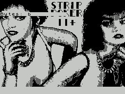 Pantallazo de Strip Poker 2+ para Spectrum