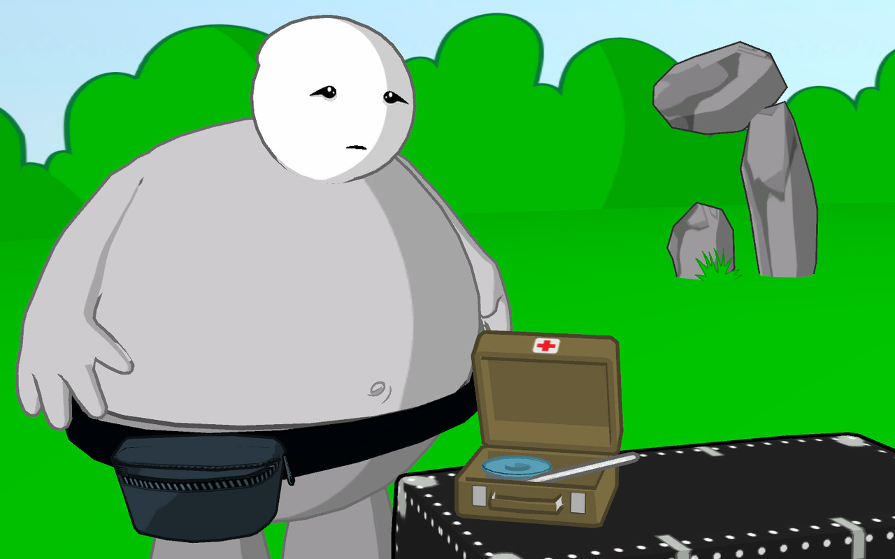 Pantallazo de Strong Bads Cool Game for Attractive People: Episode 2: Strong Badia the Free para Wii