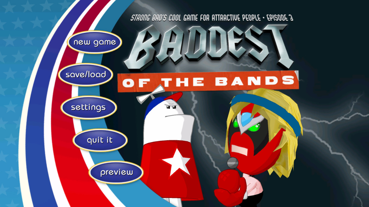 Pantallazo de Strong Bads Cool Game for Attractive People: Episode 3: Baddest of the Bands para PC