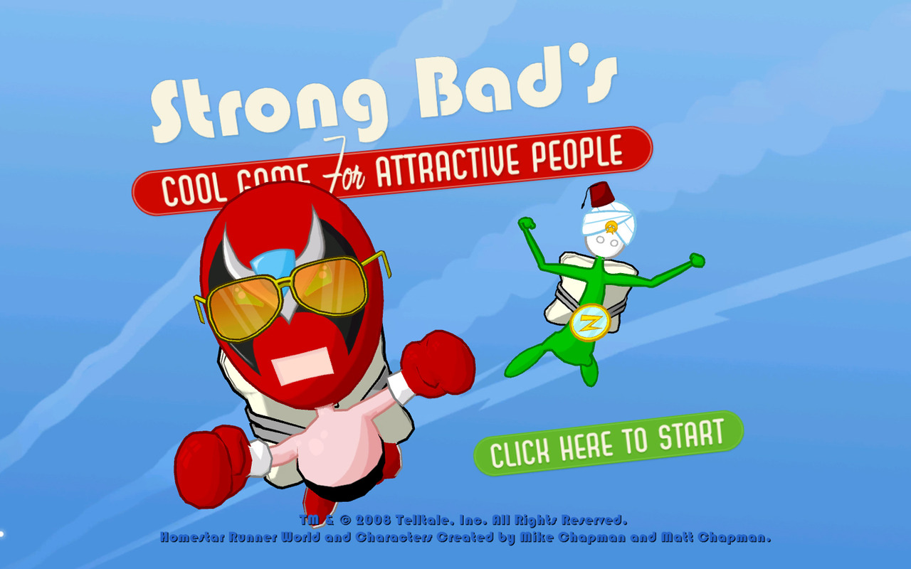 Caratula de Strong Bads Cool Game for Attractive People: Episode 4: The Criminal Projective para PC
