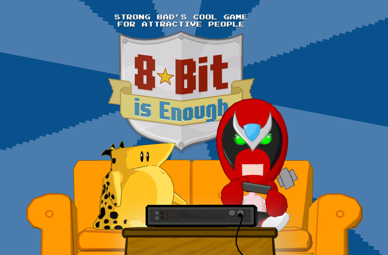 Caratula de Strong Bads Cool Game for Attractive People: Episode 5: 8-Bit is Enough para Wii