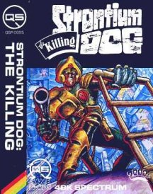 Caratula de Strontium Dog: The Killing para Spectrum
