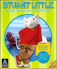 Caratula de Stuart Little: Big City Adventures CD-ROM Game para PC