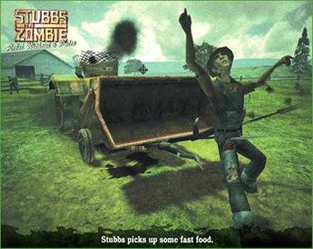 Pantallazo de Stubbs the Zombie in Rebel Without a Pulse para PC