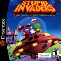 Caratula de Stupid Invaders para Dreamcast