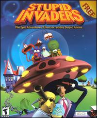 Caratula de Stupid Invaders para PC