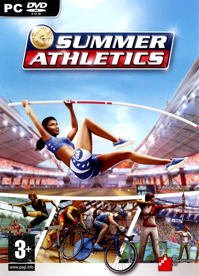 Caratula de Summer Athletics para PC
