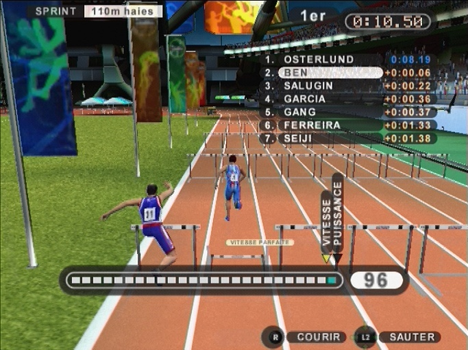 Pantallazo de Summer Athletics para PlayStation 2