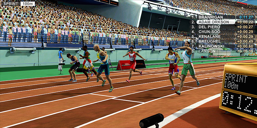 Pantallazo de Summer Athletics para Wii