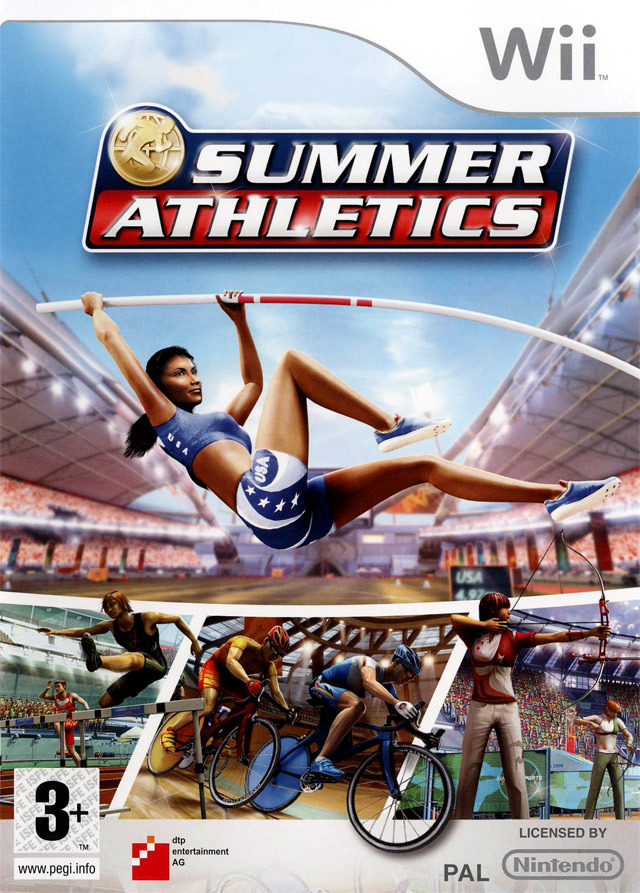 Caratula de Summer Athletics para Wii