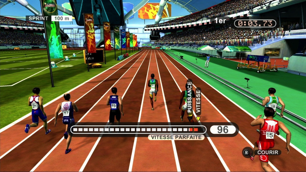 Pantallazo de Summer Athletics para Xbox 360