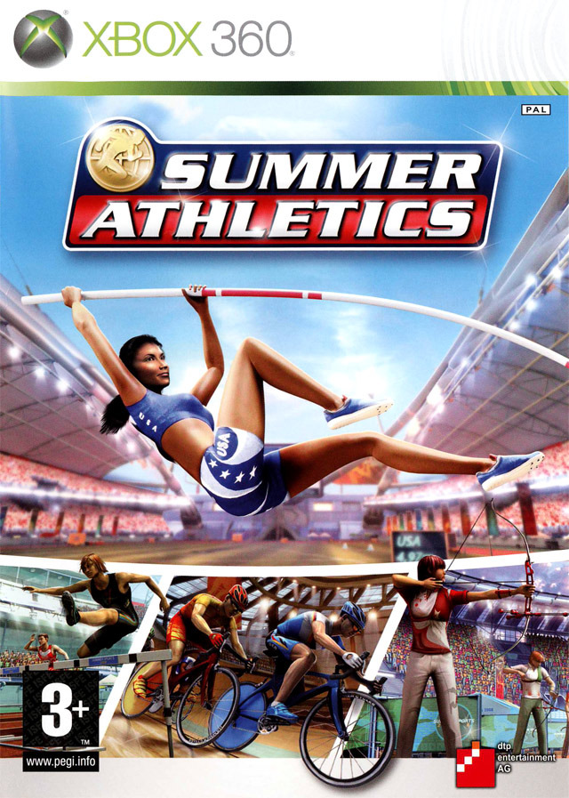 Caratula de Summer Athletics para Xbox 360