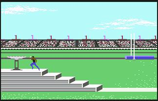 Pantallazo de Summer Games para Commodore 64