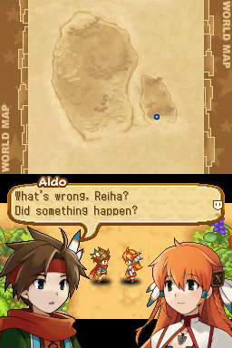 Pantallazo de Summon Night Twin Age para Nintendo DS
