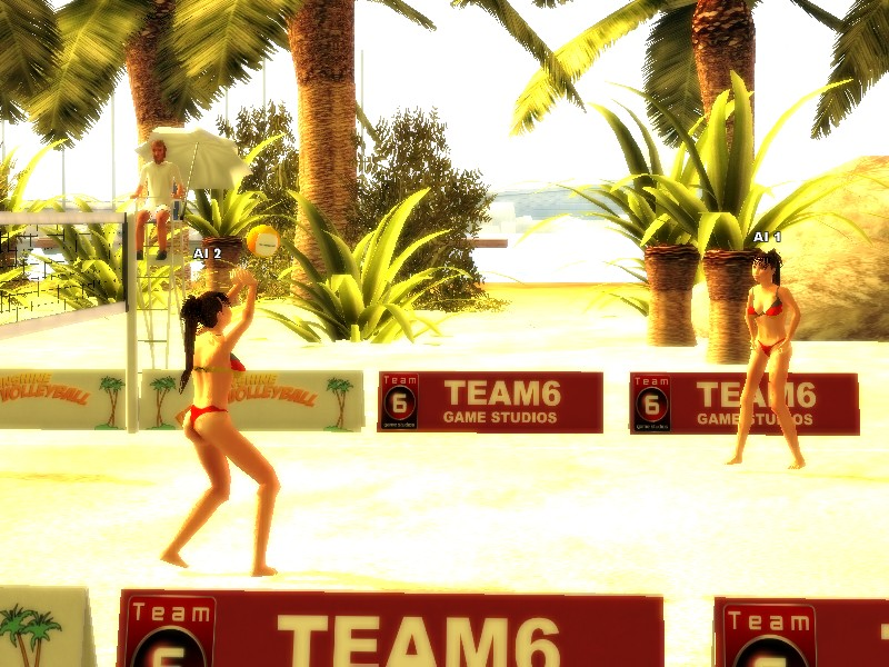 Pantallazo de Sunshine Beach Volleyball para PC