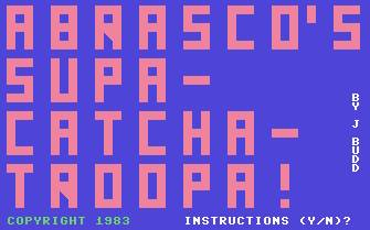 Pantallazo de Supa-Catcha-Troopa para Commodore 64