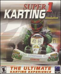 Caratula de Super 1 Karting Simulation para PC