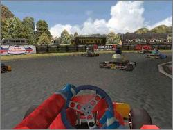 Pantallazo de Super 1 Karting Simulation para PC