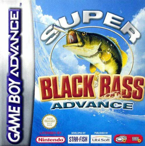 Caratula de Super Black Bass Advance para Game Boy Advance