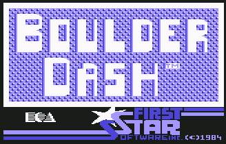 Pantallazo de Super Boulder Dash para Commodore 64