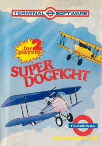 Caratula de Super Dogfight para Commodore 64