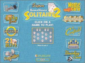 Pantallazo de Super GameHouse Solitaire Collection, The para PC