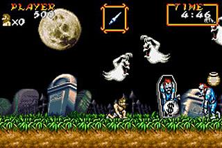 Pantallazo de Super Ghouls 'n Ghosts para Game Boy Advance