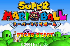 Pantallazo de Super Mario Ball (Japonés) para Game Boy Advance