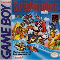 Caratula de Super Mario Land para Game Boy