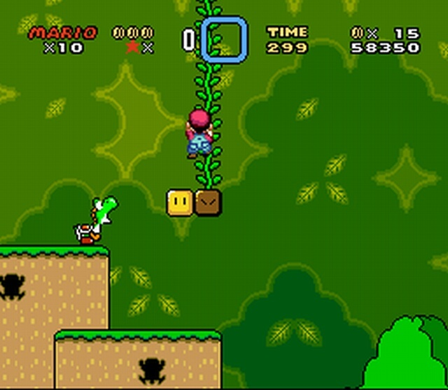Pantallazo de Super Mario World para Super Nintendo