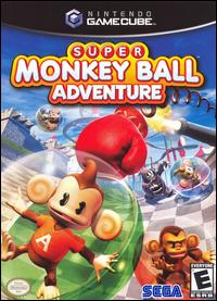Caratula de Super Monkey Ball Adventure para GameCube