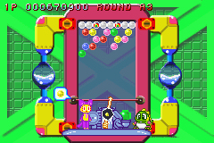 Pantallazo de Super Puzzle Bobble Advance (Japonés) para Game Boy Advance