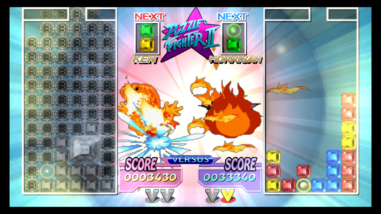 Pantallazo de Super Puzzle Fighter II Turbo HD Remix (PS3 Descargas) para PlayStation 3