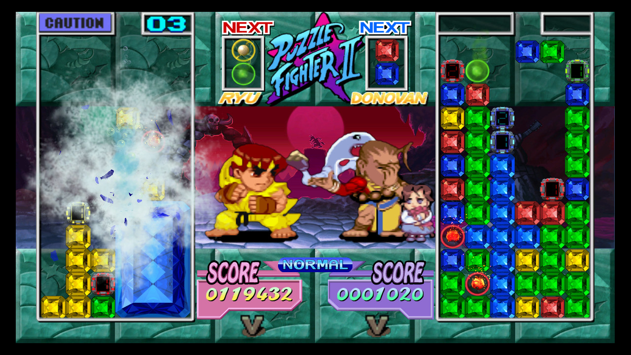 Pantallazo de Super Puzzle Fighter II Turbo HD Remix (Xbox Live Arcade) para Xbox 360